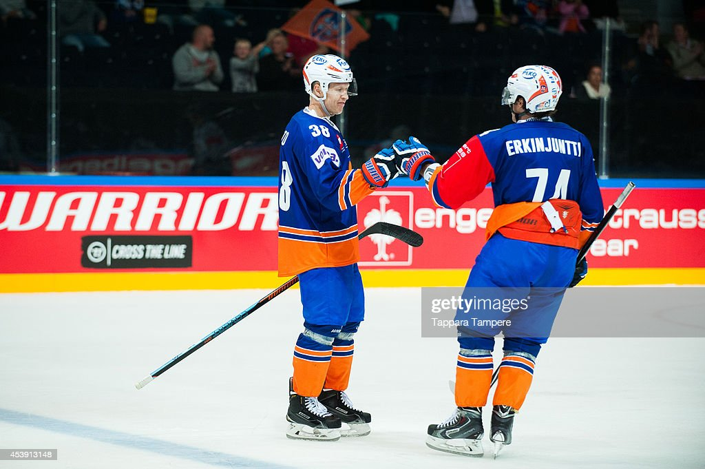 Tappara Tampere v Stavanger Oilers - Champions Hockey League : ニュース写真