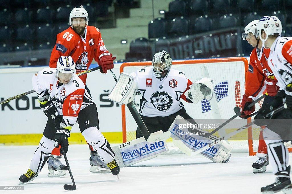 HC Pardubice v TPS Turku - Champions Hockey League