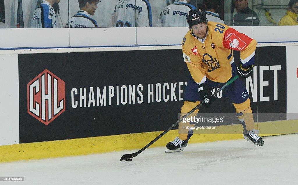 Fribourg-Gotteron v Lukko Rauma - Champions Hockey League : News Photo