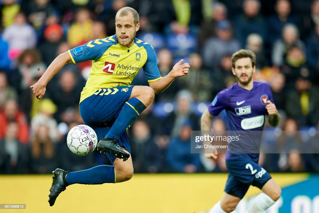 Brondby IF vs FC Midtjylland - Danish DBU Pokalen Cup Semifinal : News Photo
