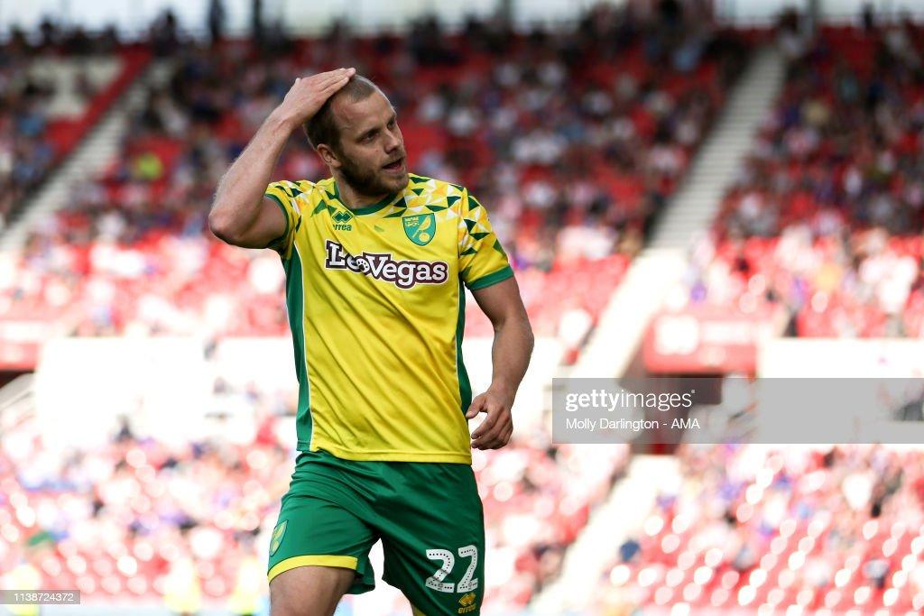 Stoke City v Norwich City - Sky Bet Championship : News Photo