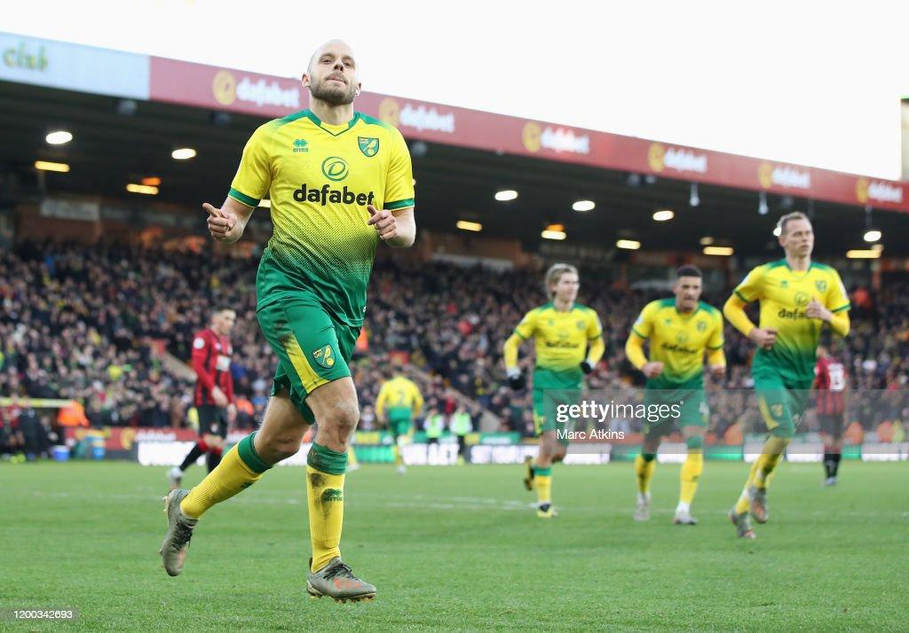 Norwich City v AFC Bournemouth  - Premier League : News Photo