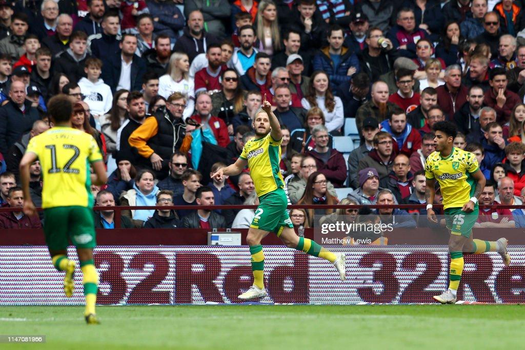 Aston Villa v Norwich City - Sky Bet Championship : News Photo