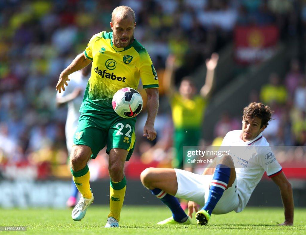 Norwich City v Chelsea FC - Premier League : ニュース写真