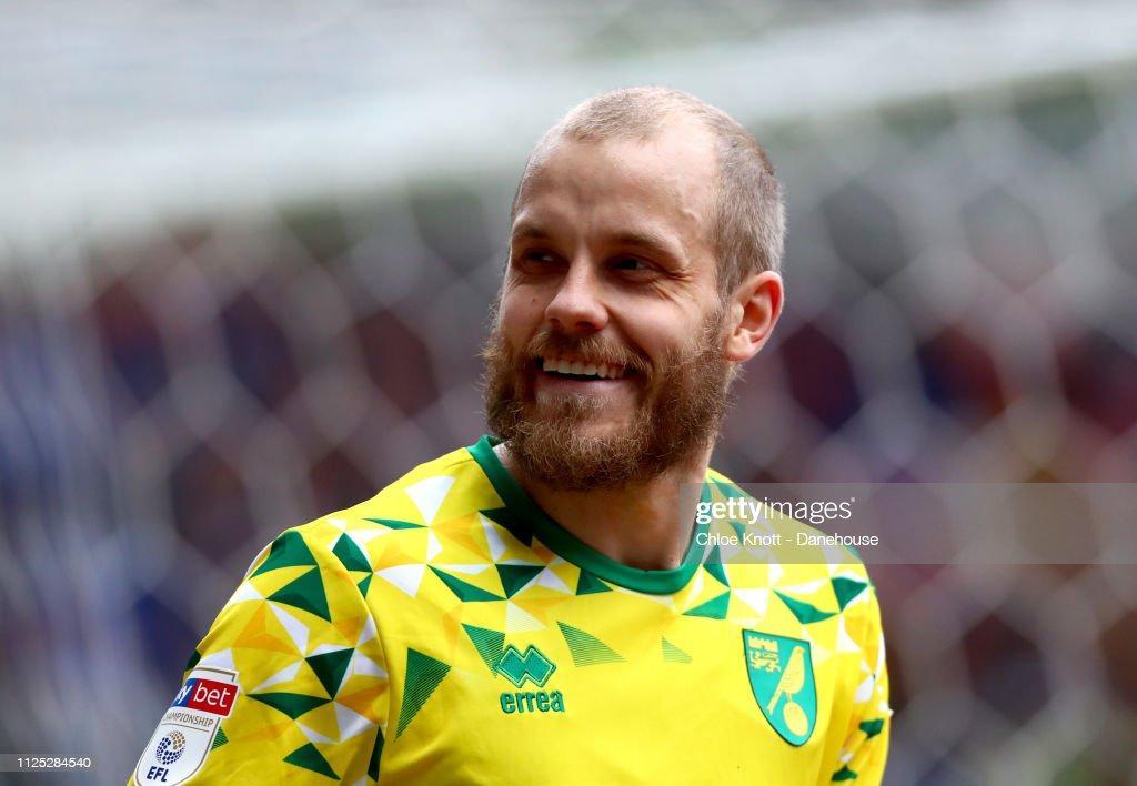 Bolton Wanderers v Norwich City - Sky Bet Championship : Foto jornalística