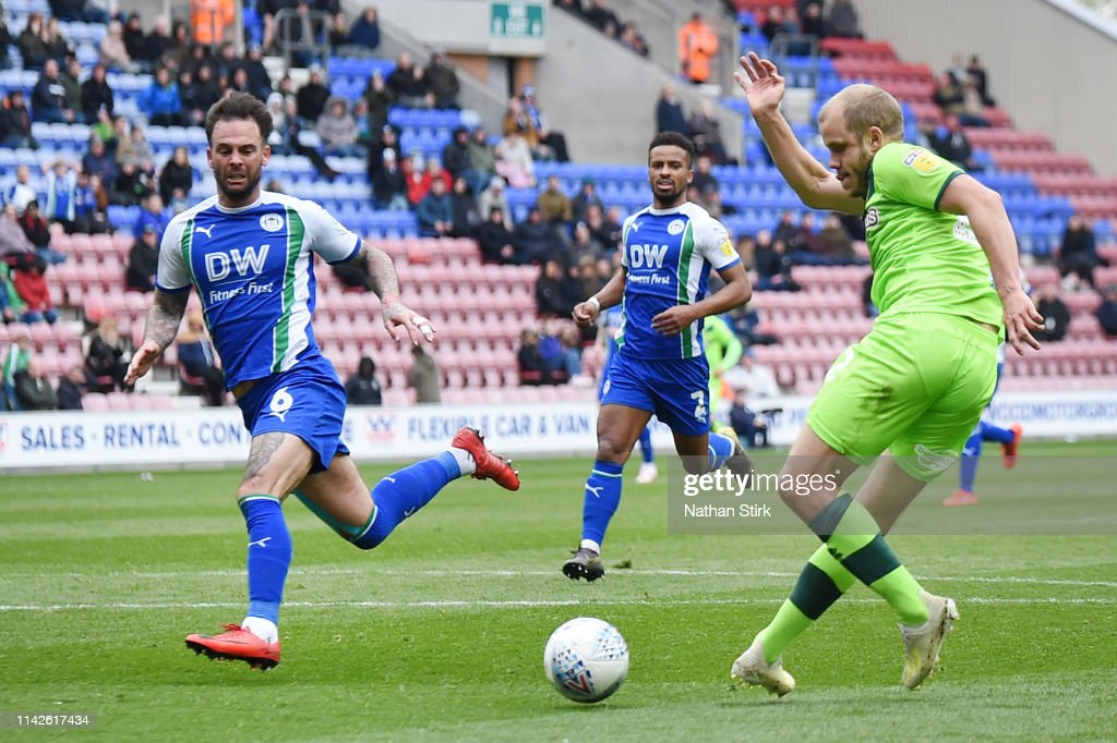 Wigan Athletic v Norwich City - Sky Bet Championship : News Photo