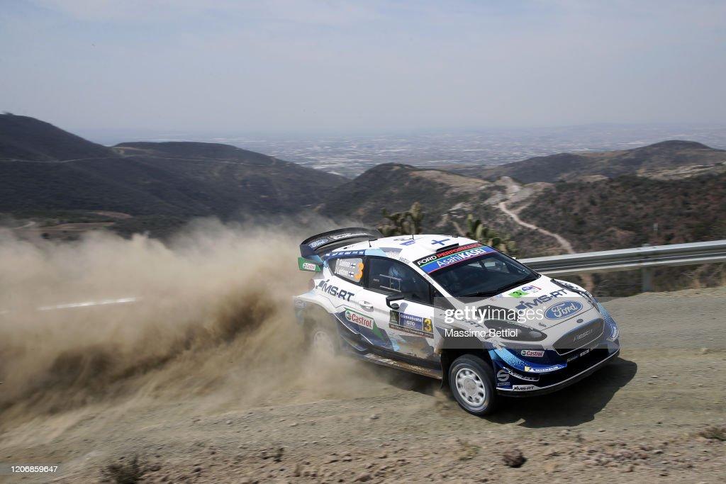 FIA World Rally Championship Mexico - Shakedown : News Photo