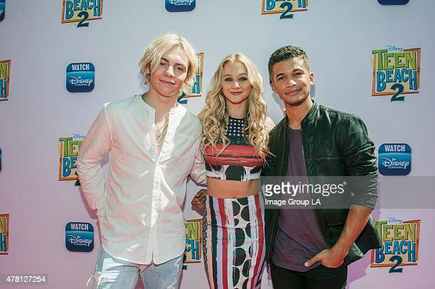 BEACH 2 Teen Beach 2 Premiere Event Ross lynch Maia Mitchell R5 and the stars of the Disney Channel Original Movie Teen Beach 2 kickoff the movie's...