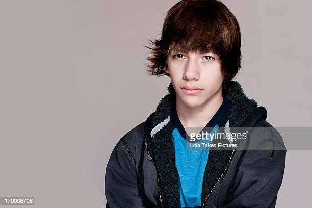 Teen Boy in Jacket