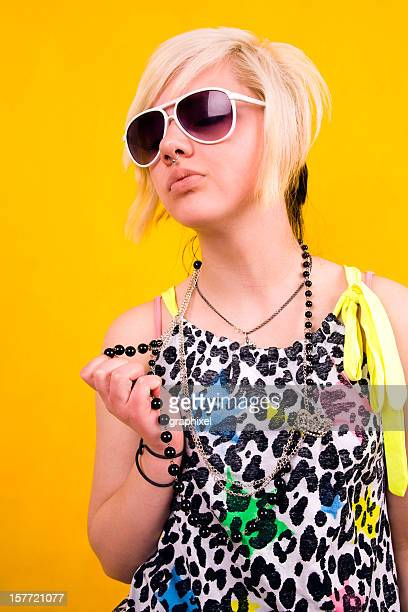 teen girl - young goth girls stock pictures, royalty-free photos & images