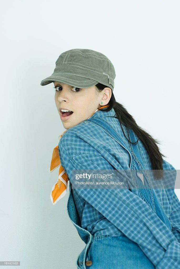 Teen in overalls, dick picturesporn