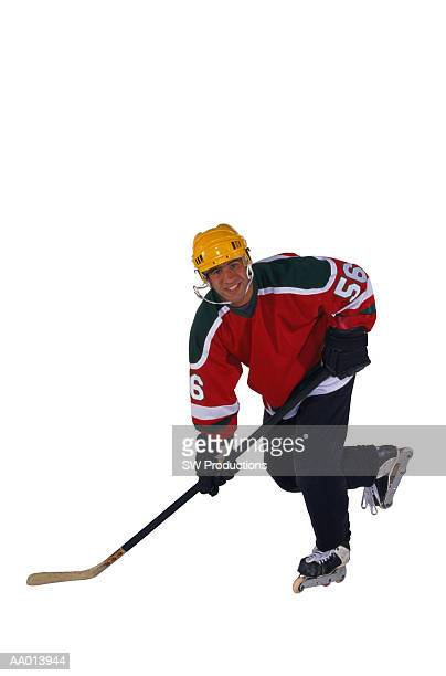 teen hockey player - ice hockey uniform stock pictures, royalty-free photos & images