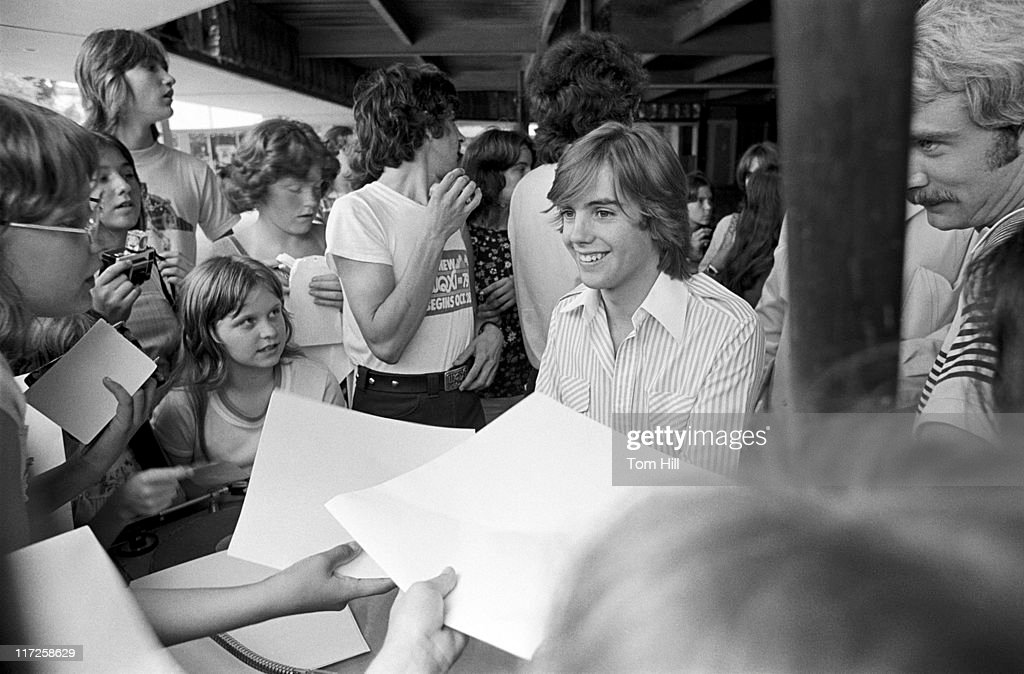 Shaun Cassidy during Shaun Cassidy on WQXI Radio - June 1, 1977 at WQXI Radio in Atlanta, Georgia, United States.