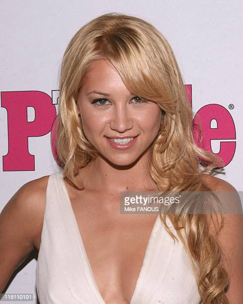 Teen People Magazine celebrates 2nd annual Young Hollywood Issue in Hollywood United States on August 13 2005 Anna Kournikova at the Cabana club