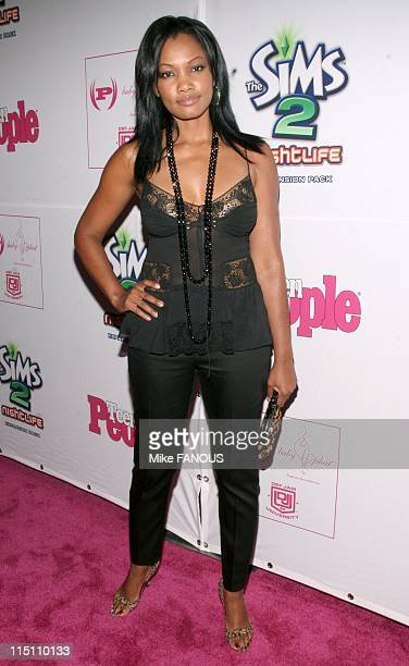 Teen People Magazine celebrates 2nd annual Young Hollywood Issue in Hollywood United States on August 13 2005 Garcelle BeauvaisNilon at the Cabana...