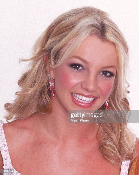 Teen pop singer Britney Spears poses for a portrait August 2000 in San Francisco CA
