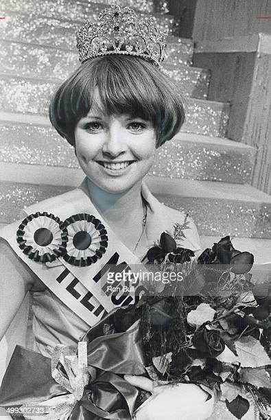 Teen queen from Windsor Miss Teen Canada 1976 chosen last night from 28 finalists is Shelley Lynn Homick 1 16yearold Windsor high school student who...