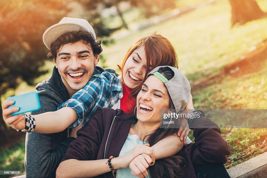teen selfie stock photo | getty images