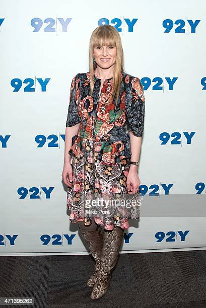 Teen Vogue editorinchief Amy Astley attends the 92nd Street Y Presents In Conversation with Misty Copeland and Amy Astley at 92nd Street Y on April...