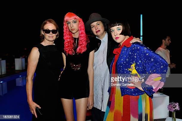 Teen Vogue Senior West Coast Editor Lisa Love Arrow de Wilde photographer Autumn de Wilde and guest attend the 11th Annual Teen Vogue Young Hollywood...