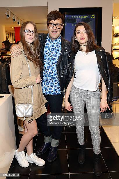 Teen Vogue Style Features Director Andrew Bevan and guests attend the Teen Vogue MBMJ Fall 2014 Bloomingdale's InStore Event on October 9 2014 in New...