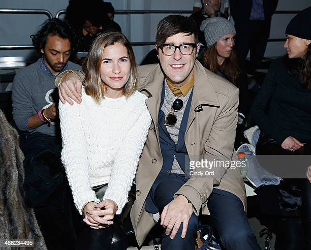 Teen Vogue style features director Andrew Bevan attends the Giuletta fashion show during MercedesBenz Fashion Week Fall 2014 at Pier 59 on February 9...
