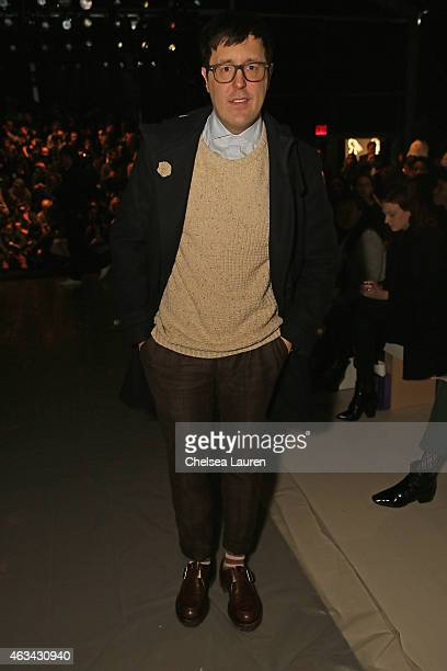 Teen Vogue Style Features Director Andrew Bevan attends the Noon By Noor fashion show during MercedesBenz Fashion Week Fall 2015 at The Salon at...