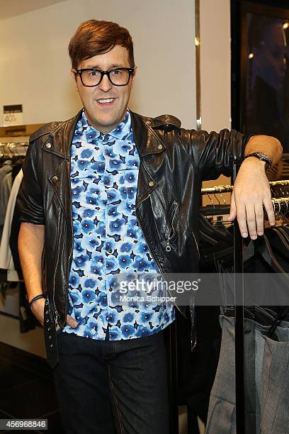 Teen Vogue Style Features Director Andrew Bevan attends the Teen Vogue MBMJ Fall 2014 Bloomingdale's InStore Event on October 9 2014 in New York City