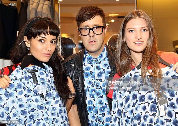 Teen Vogue Styleset Host Carlen Altman Teen Vogue Style Features Director Andrew Bevan and Teen Vogue Styleset Host Michele Ouellet attend the Teen...