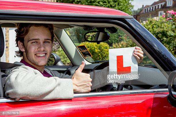 Teen youth passes driving test