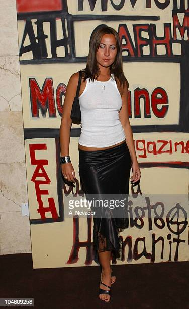 Teena Collins during Movieline Magazine and California Artists for Humanity at Nacional in Los Angeles California United States