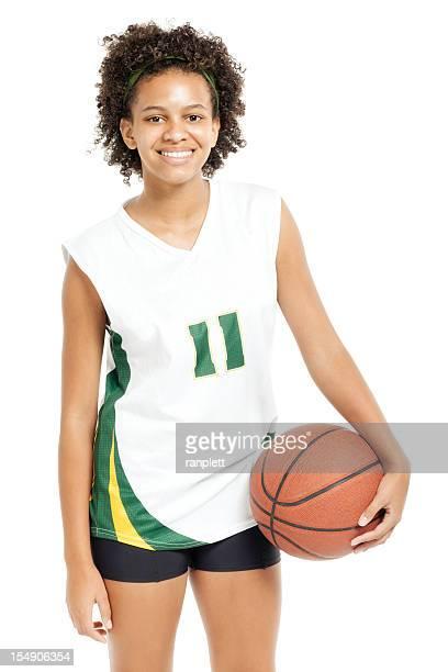 Teenage Basketball Player - Isolated