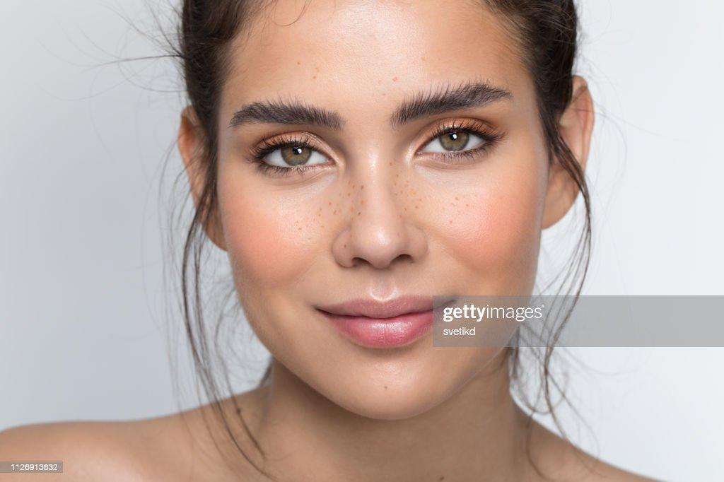 Teenage beauty : Stock Photo