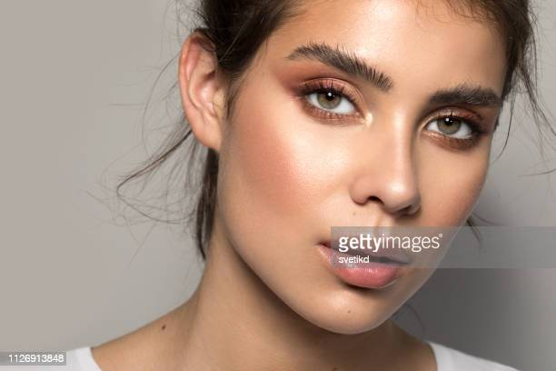 teenage beauty - glowing stock pictures, royalty-free photos & images