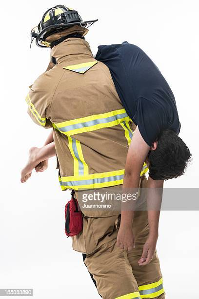 Fireman Carry Stock Photos And Pictures  Getty Images-8772