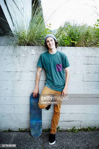 Teenage boy (16-17) hanging out