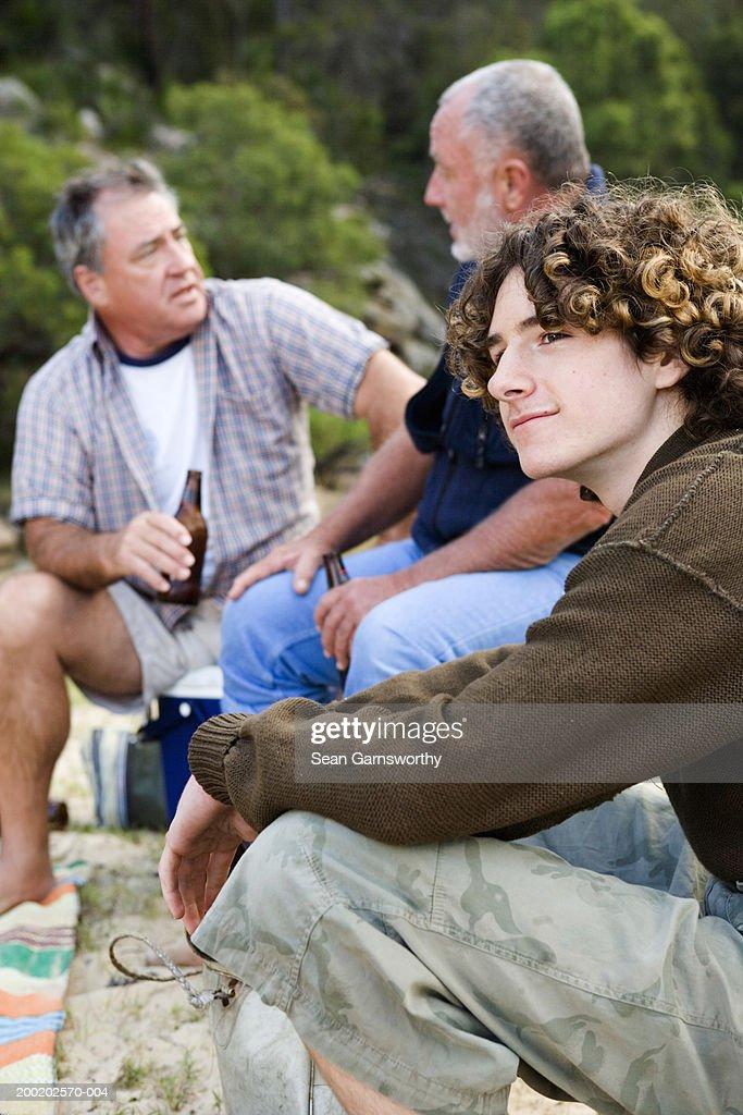 Mature men with teen boys
