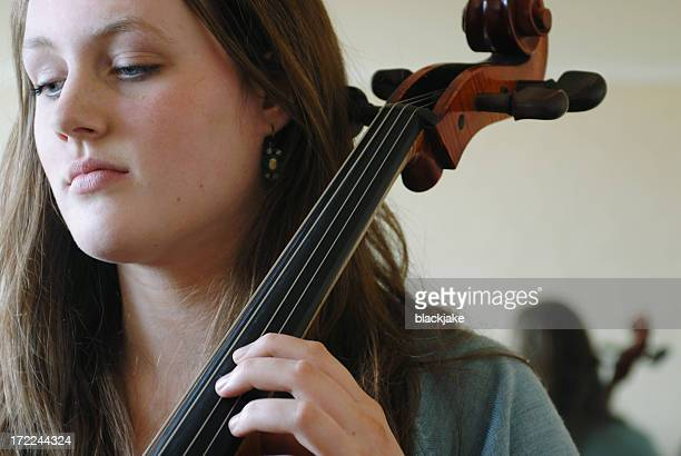 teenage cellist - cellist stock pictures, royalty-free photos & images