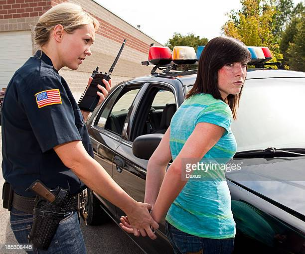 teenage criminal - arrest stock pictures, royalty-free photos & images