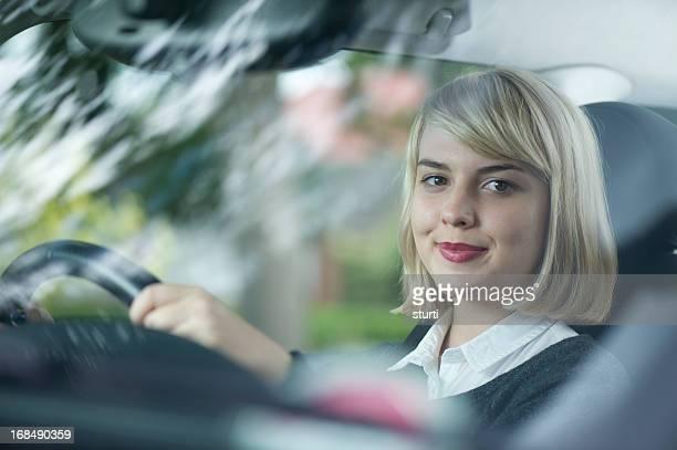 Teenager Fahrer