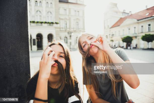 teenage friends - serbia stock pictures, royalty-free photos & images