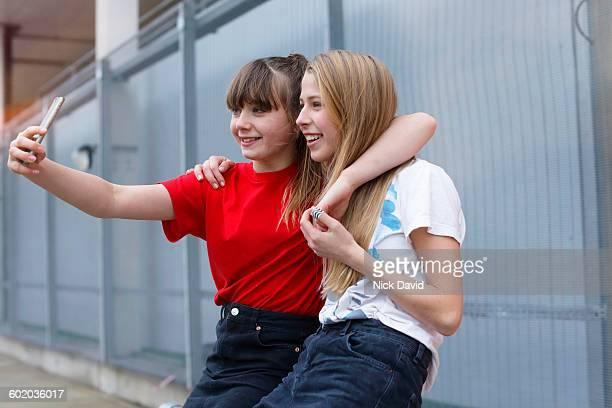 Teenage friends