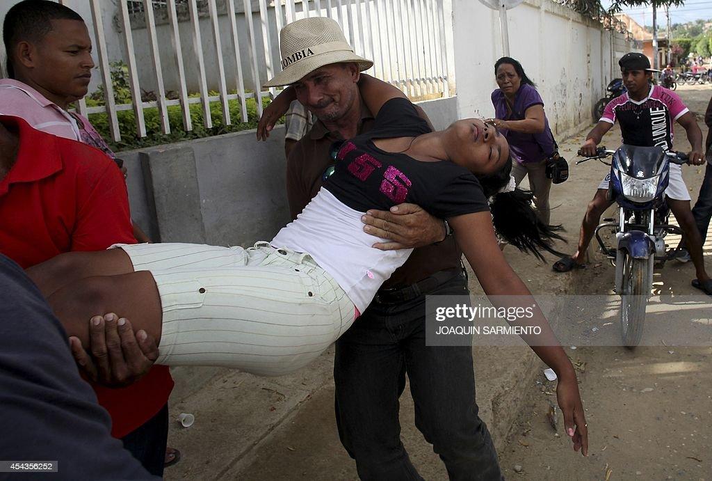 COLOMBIA-HEALTH-VACCINE-PAPILLOMAVIRUS : News Photo