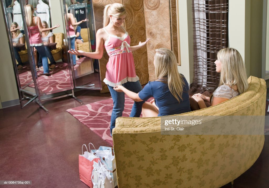 Dressing room teen