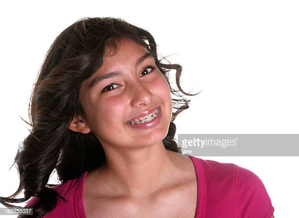 teenage girl - beautiful mexican girls stock photos and pictures