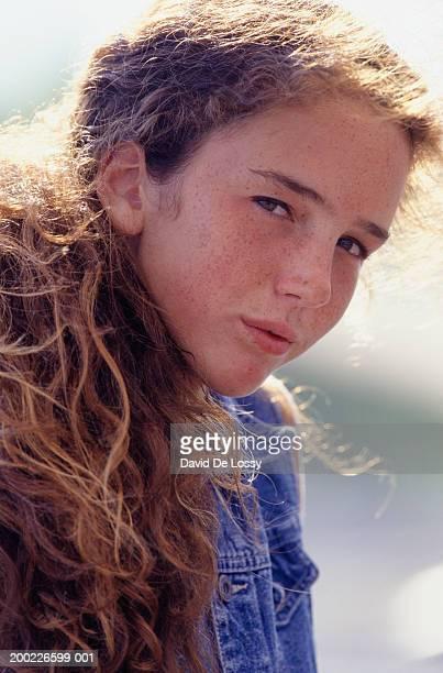 Teenage girl (16-17 Years ), portrait