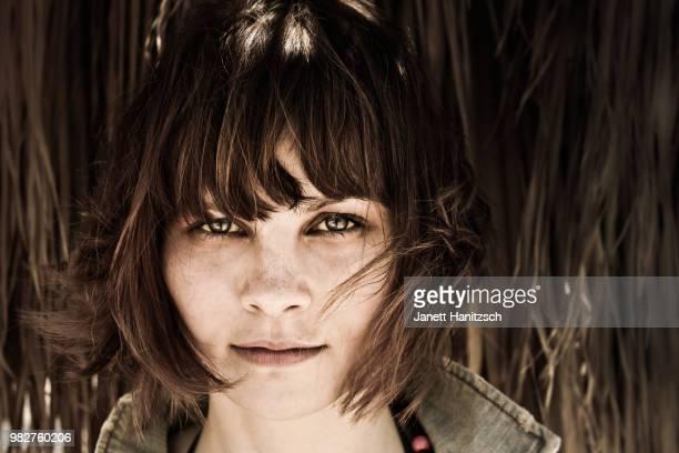 Teenage girl (16-17) portrait