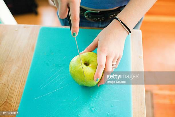 Teenager-Mädchen Total apple