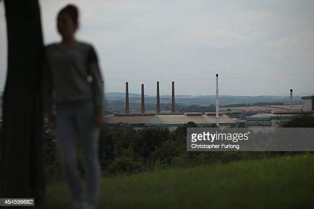 A teenage girl who claims to be a victim of sexual abuse and alleged grooming poses in Rotherham on September 3 2014 in Rotherham England South...