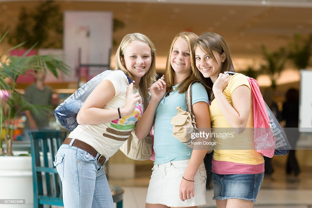 Girl At The Mall